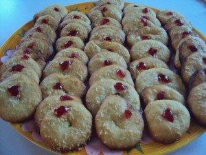 Petits gâteaux orange-noix de coco dans douceurs dsc032351-300x225