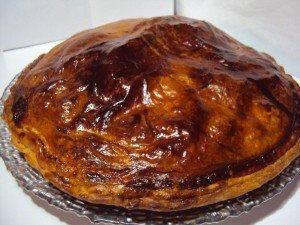 Galette des rois pommes-pralin dans dessert dsc032542-300x225