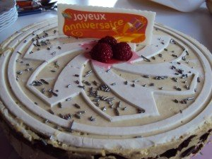 Fondant pistache/chocolat blanc et framboises dans dessert fondant-pistach-choc-frambois-300x225